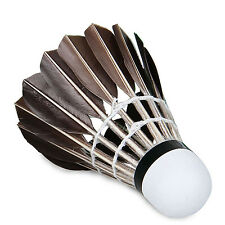 U 12X Training Sport Goose Feather Birdies Ball Game Shuttlecock Badminton