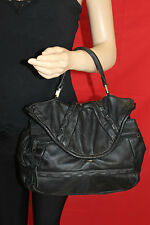 80er 80s Vintage TRUE VTG Ledertasche echt LEDER Tasche Leather BAG Satchel