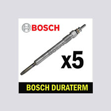 5x Bosch Glow Plugs for MERCEDES W211 2.7 E270 CDI OM647 177bhp