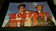 Tommy Boy Rare Original Box Office Promo Poster Ad Framed!