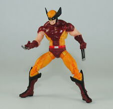 3.75in Comics Series Action Figure Movable X-man:Brown and Yellow Wolverine  W01