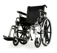 "Sunrise Breezy Ultra 4 18""x18"" Lightweight Wheelchair w/Full Length Arms"