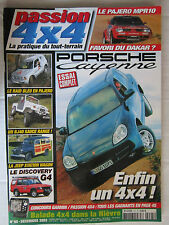 PASSION 4X4 N° 95 /PORSCHE CAYENNE/JEEP STATION WAGON/DISCOVERY G4/PAJERO MPR10