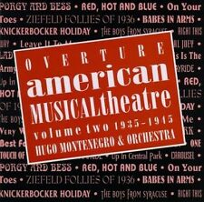 HUGO MONTENEGRO AND HIS... - Overture: American Musical Theatre... CD