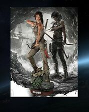 Tomb RAIDER Lara Croft 2013 personaggio STATUA Bust Lifesize lebensgross Muckle personaggio