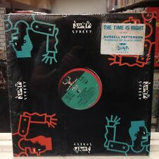 """NM 12""""~RUSSELL PATTERSON~The Time Is Right~[x5 Mixes/Remixes]~1989 JUMP STREET"""