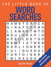 The Little Book of Word Searches by Gareth Moore (Paperback)  | NEW