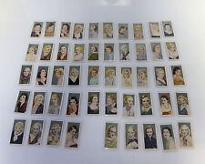 Tobacco cards set Cigarette cards Film Favourites Lot of 49