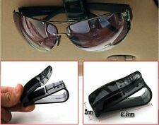 Car Vehicle Hot Black Sun Visor Sunglasses Eye Glasses Card Pen Holder Clip