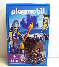 Playmobil Königs-Kanonier, 3316, in Box