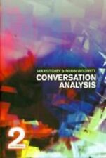 Conversation Analysis by Robin Wooffitt and Ian Hutchby (2008, Paperback,...