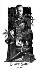 "1044 Hot Movie TV Shows - Black Sails 20 14""x24"" Poster"