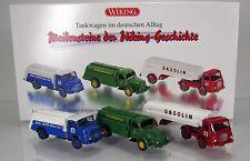 """Wiking 099082 Set """" Tankwagen im deutschen Alltag """""""