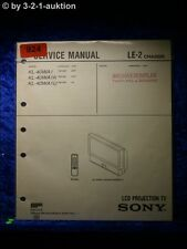 Sony Service Manual KL 40WA1 K / U LCD Projection TV (#0924)