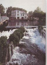 BF19951 isle sur sorgue vaucluse la cascade du plan d ea france front/back image
