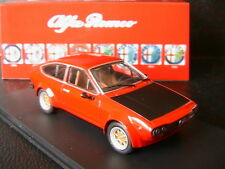 ALFA ROMEO GTV 2000 RED & BLACK RACE VERSION 1976 M4 7203 1/43 ROUGE & NOIRE