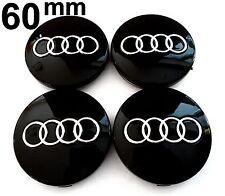 Audi 60mm Nabendeckel Nabenkappen Felgendeckel Felgenkappen Nabenblenden Embleme