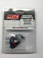 MSD 8428 Distributor Advance Curve Kit for GM HEI; Springs, Weights, Bushings