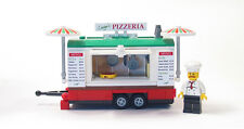 Lego Custom Pizza Trailer City Town