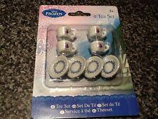 NUOVO con confezione new Disney congelato 8 pezzi miniatura in ceramica Tè Set-Anna Elsa