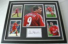 Robbie Fowler SIGNED FRAMED Photo Autograph Huge display Liverpool PROOF & COA