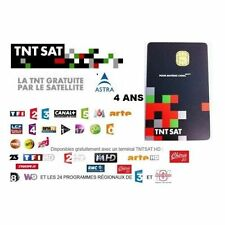 TNTSAT Smartcard HD Viaccess über Astra 19,2° French TV Karte neuen Generation