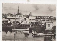 Anvers Le Port Belgium RP Postcard 492a