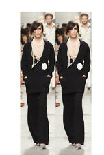 PRICELESS CHANEL BLACK SUIT PANTS WE CAN THANK COCO FOR SZ 42