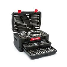 Husky Mechanics Tool Set 268 Piece Sockets and Wrenches Kit Storage Case New