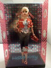 2008 Hello Kitty Barbie Doll Pink Label NIB