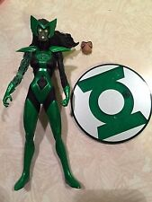 "DC Direct Blackest Night Green Lantern Boodikka 7"" Action Figure Complete!"