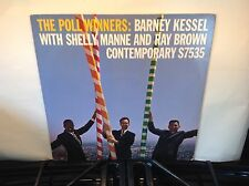 BARNEY KESSEL -Poll Winners ~CONTEMPORARY 7535 {nm} [ojc-158] wRay Brown & Manne