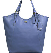 NEW ARRIVAL! COACH PEYTON LEATHER TOTE BAG PORCELAIN BLUE $358 SALE