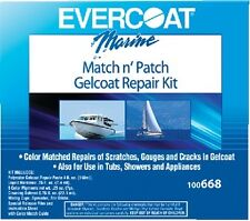 New Match N' Patch Gelcoat Repair Kit evercoat 75-100668