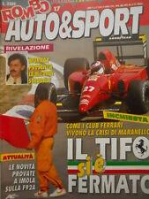 ROMBO 17 1991 Maxi Poster LUCA CADALORA Rothmans Racing