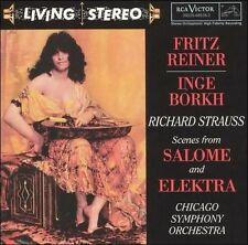 Richard Strauss: Scenes from Salome and Elektra, Reiner conducting the CSO, CD
