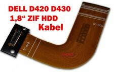 "DELL Latitude D420 D430 HDD Kabel Festplattenkabel 1,8"" ZIF Flex Cable"