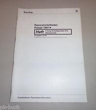 Werkstatthandbuch VW Passat B5 5 Gang Schaltgetriebe 01A Syncro Stand 01/1997