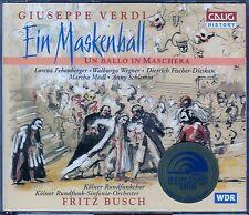 VERDI : EIN MASKENBALL - UN BALLO IN MASCHERA / 2 CD-SET - NEU