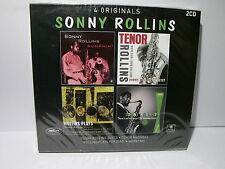Sonny Rollins: 4 Originals Come Nuovo Like New 2 CD 8712155125515