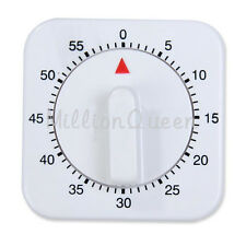 Mechanical Kitchen Cooking Game Count Down Up Timer Counter Alarm 60 Minutes