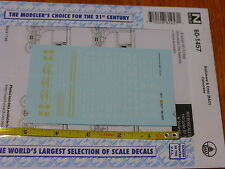 Microscale Decal N #60-1457 Baltimore & Ohio (B&O) Cabooses (Decal Set)
