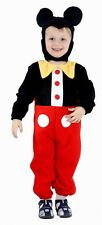 MOUSE BOY COSTUME - AGES 2 3 4 - TODDLER BOYS FANCY DRESS OUTFIT - MICKEY DISNEY