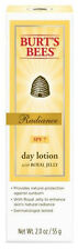 BURT'S BEES RADIANCE DAY LOTION with SPF 7 SUNSCREEN & ROYAL JELLY MOISTURISING