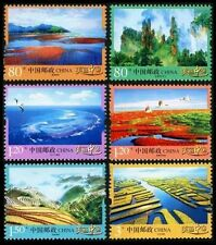 CHINA 2013 R32 The Beauty of Mainland China 美丽中国 stamp 6v MNH