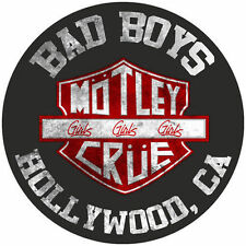 Parche imprimido, Iron on patch, /Textil sticker, Pegatina/ - Motley Crue
