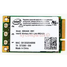 New Intel Wireless WiFi Link 4965AGN 300Mbps 441086-001 Mini PCI-E Card