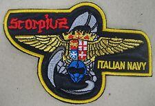 """Toppa/Patch Stemma """"3° AUPC SCORPIUS - CORSO PILOTI VOLO MARINA MILITARE"""""""