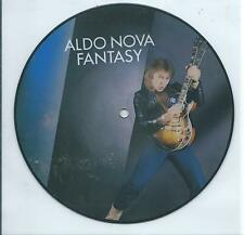 "ALDO NOVA USA promo   picture disc 7"" FANTASY, 33 1/3 station DC101"