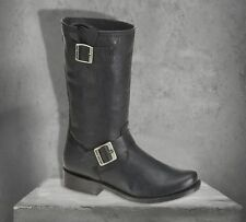 Harley-Davidson Men's Lawson Leather Engineer Boots Black D92106 size 10 ( 44 )